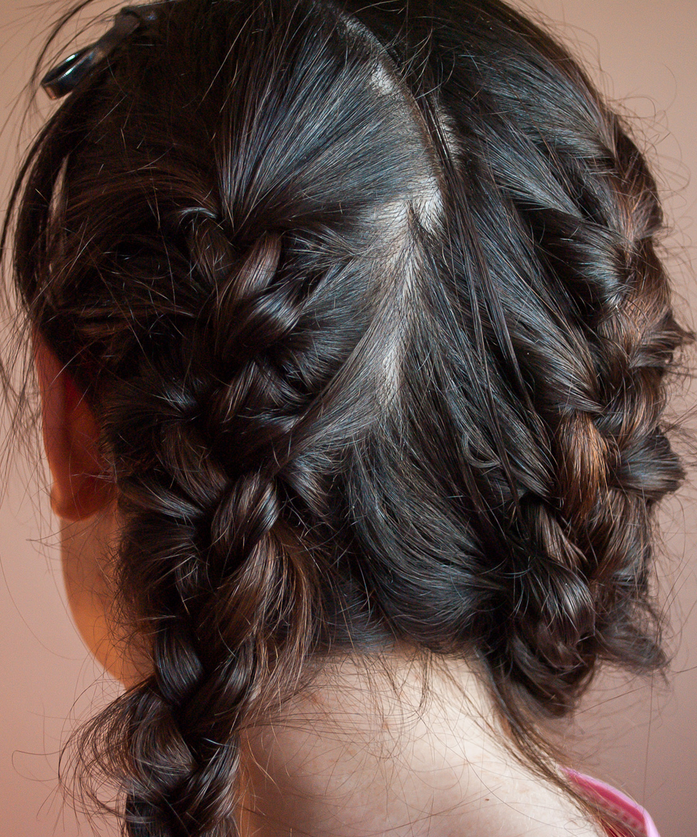 Let Your Hair Dry In Braids