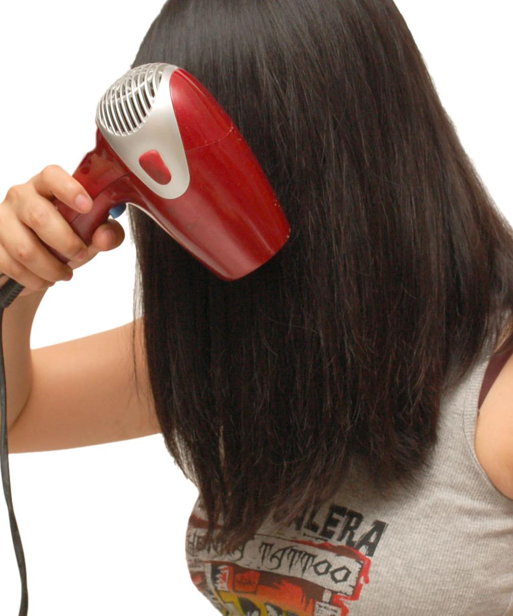 Pre-Dry hair