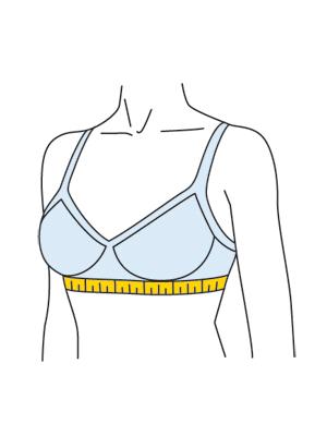 Measure Bra Band Size