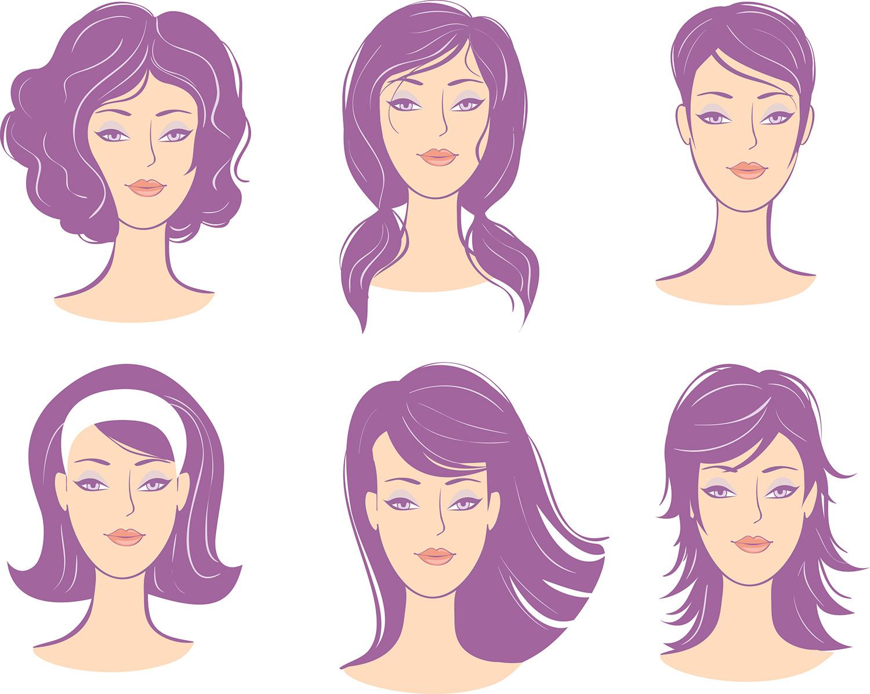Women Face Shape Hairstyles