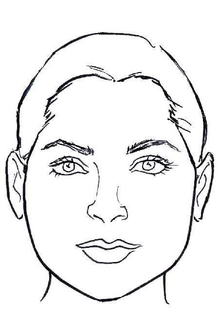 Pear/Triangle Face Shape