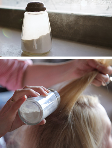 Dry Shampoo Directions