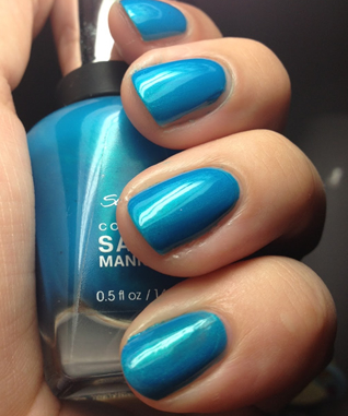 Mykonos Blue Nail Polish