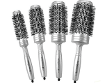 Bio Ionic Silver Classic Series Round Brushes
