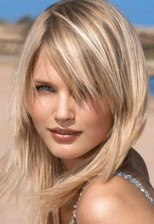 Medium Layered Hairstyles 1