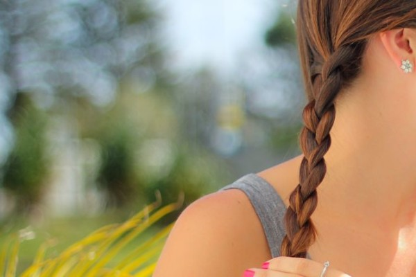 Simple Side Braid