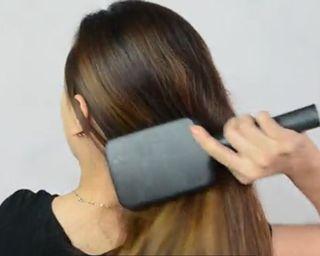Simple Side Braid Step 1