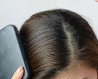 Simple Side Braid Step 2