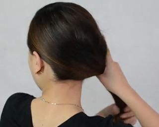 Simple Side Braid Step 3