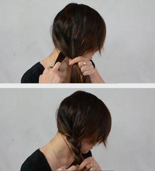 Simple Side Braid Step 5