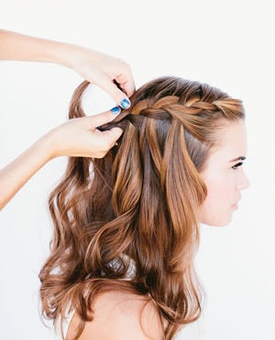 Waterfall Braid Step 5