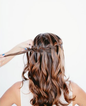 Waterfall Braid Step 6