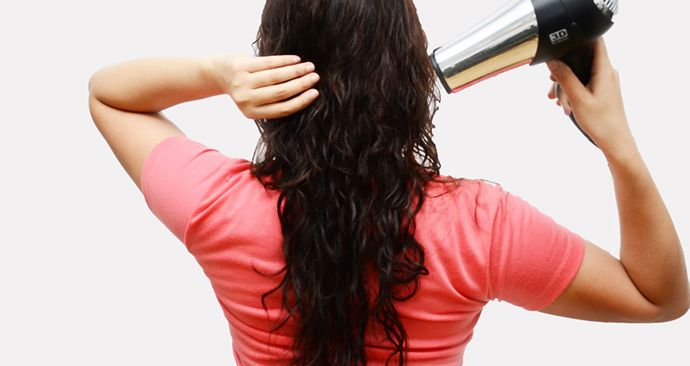How to Blow Dry Curly Hair