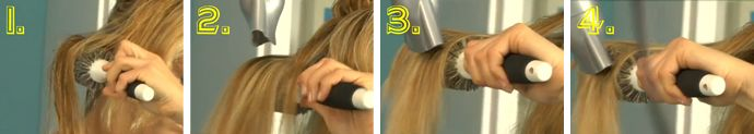 Blow Drying Hair for Volume
