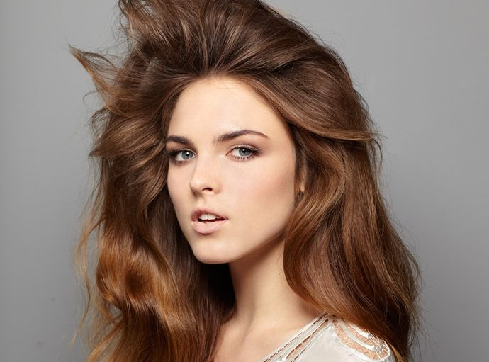 How to Blow Dry Hair for Volume