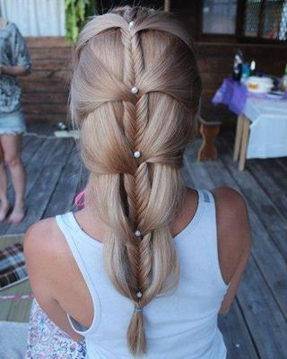 Intricate Wedding Hairstyle