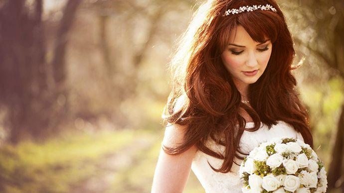 Unique Wedding Day Hairstyles