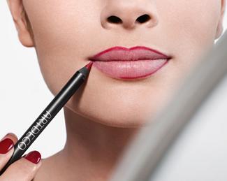 Apply Lipstick Step 1