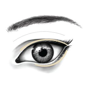 Applying Eyeshadow Step 2