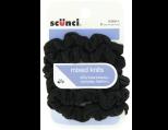 Scunci Effortless Beauty Mini Slinky Black Twisters