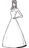 A-Line Gown Silhouette