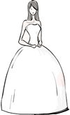 Ball Gown Silhouette
