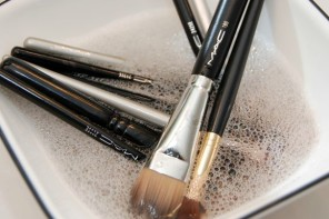 How to clean makeup brushes, and how often?