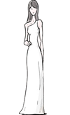 Sheath Gown Silhouette