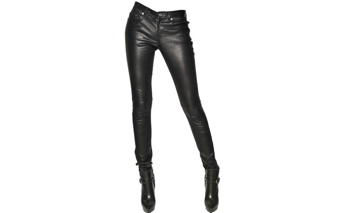 What to Wear with Leather Pants