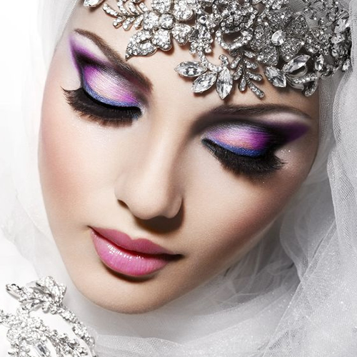 Bold Bride Makeup 1