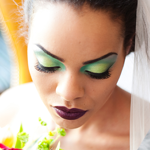 Bold Bride Makeup 2