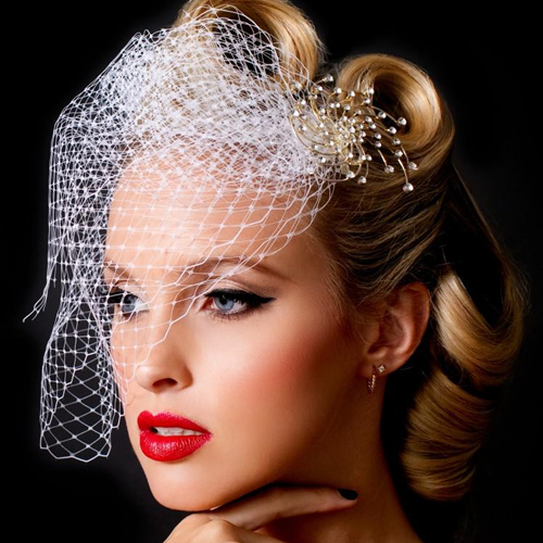 Vintage Bride Makeup 1