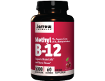 Jarrow Formulas Methyl Vitamin B-12, 5000 mcg Lozenges