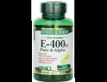 Nature's Bounty Vitamin-E 400 Iu Natural Pure D-Alpha, Softgels