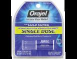 Orajel Single Dose Cold Sore Treatment