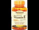 Sundown Naturals Vitamin-E 1000 IU, Softgels
