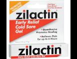 Zilactin Cold Sore Gel, Medicated Gel