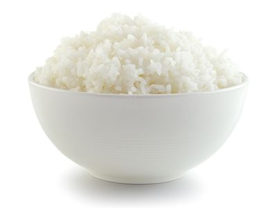 Bowl of Rice for Upset Stomach
