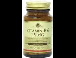 Solgar Vitamin B-6, 25 mg