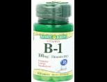 Nature's Bounty Vitamin B1 Tablets, 100mg