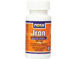 NOW Foods Iron 18mg, Capsules