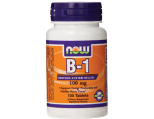 NOW Foods Vitamin B1 Tablets, 100 mg