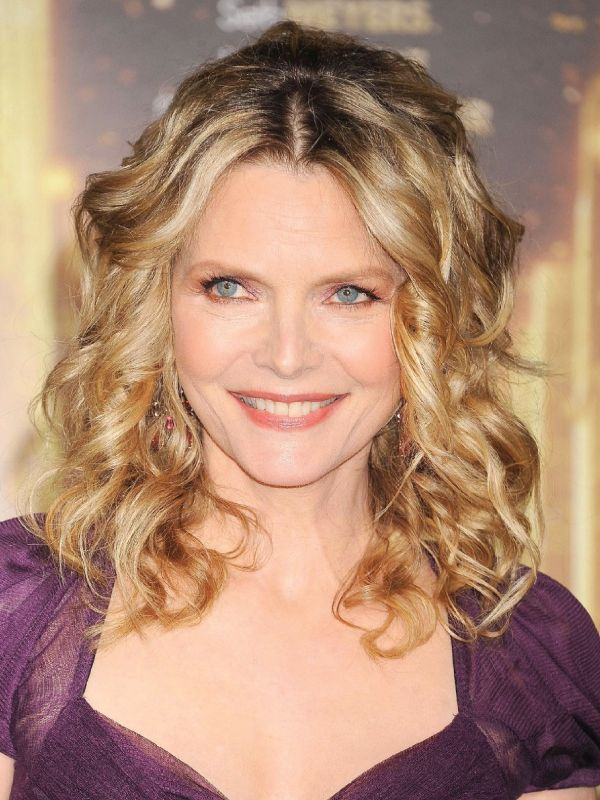 Michelle Pfeiffer with Shoulder Length hair