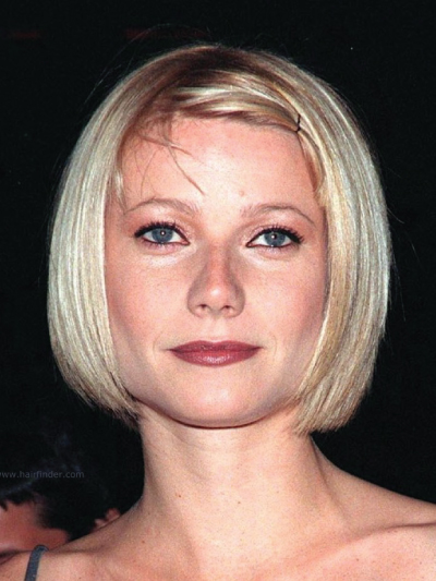 Gweneth Paltrow with a Short Bob