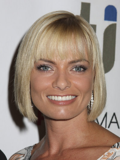 Jaime Pressly with a Short Bob