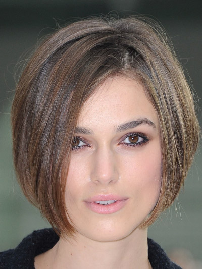Keira Knightley with a Short Bob