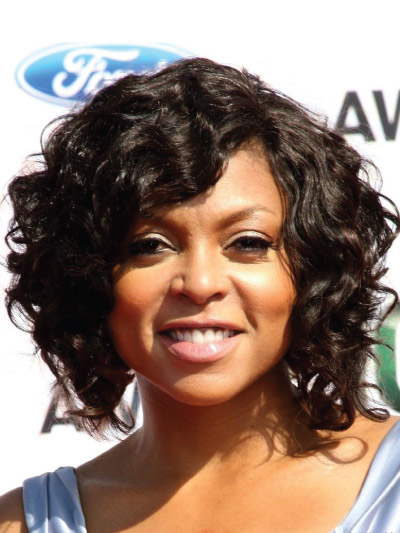 Taraji P Henson with a Short Bob