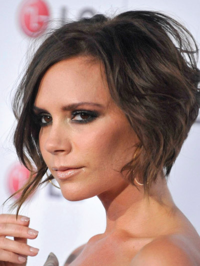 Victoria Beckham with a Short Bob