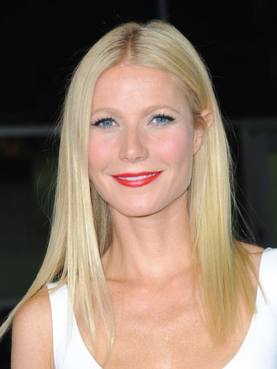 Gwyneth Paltrow with a Long Bob