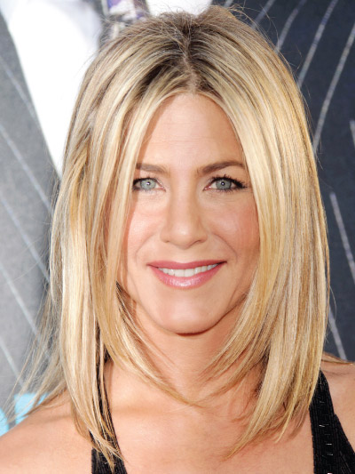 Jennifer Aniston with a Long Bob